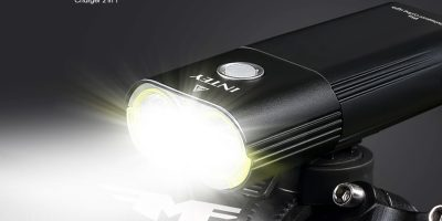 INTEY Luz LED para Bici Luces de Bicicleta Recargable