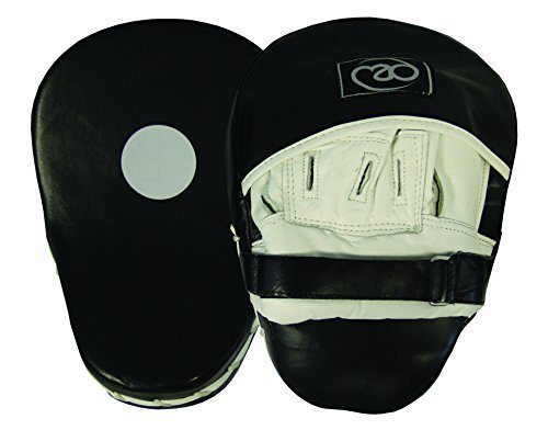 Boxing - Mad Curved Leather - Pao de boxeo, color negro / blanco 15.76€