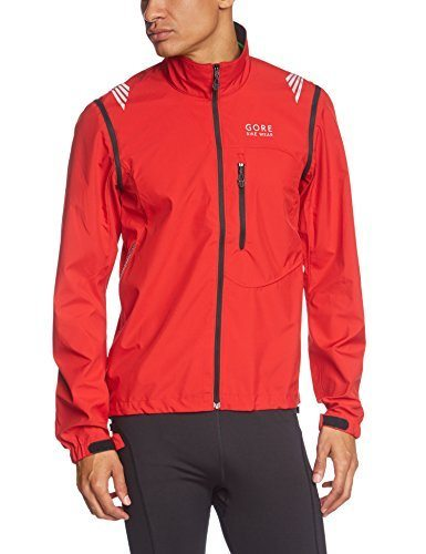 Gore Bike Wear Element Windstopper Active Shell Zip-Off - Chaqueta de ciclismo para hombre, color rojo, talla 116.95€