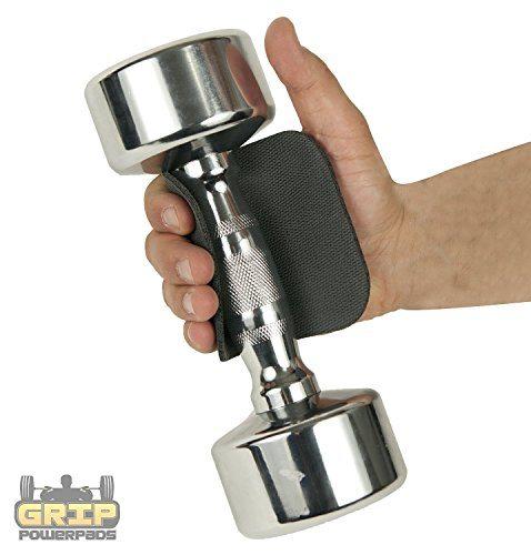 Lifting de ratón por POWER GRIP PADS® - La Alternativa A Gimnasio Guantes | Lifting Grips | guantes de entre 8.95€