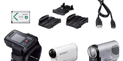 Sony Action Cam HDR-AS200VR + Control remoto Live View