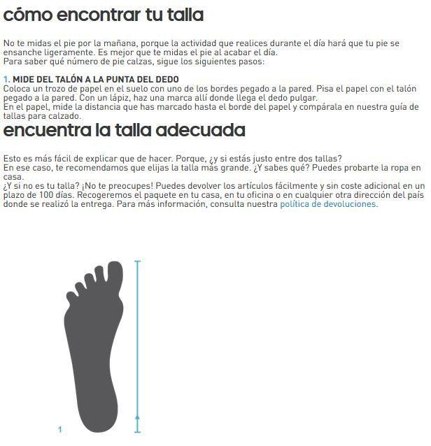 Guía tallas Zapatillas adidas Stan Smith baratas en varias tallas