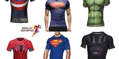 Camisetas Compresivas Superheroes