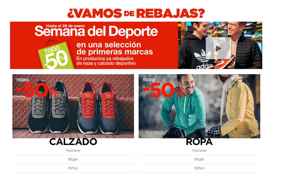 8d8cc557a341d chollodeportes.com - Semana del deporte en El Corte Inglés ...