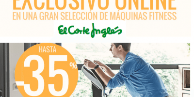 maquinas fitness elcorteingles