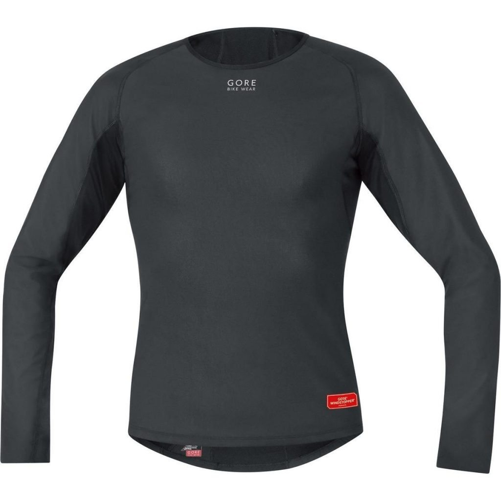 Camiseta Gore Bike Wear Base Layer Windstopper Termo