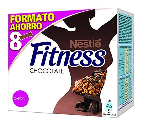 48 barritas chocolate Nestlé Fitness