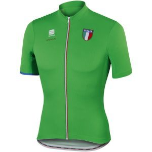 Maillot Sportful Italia CL en color verde