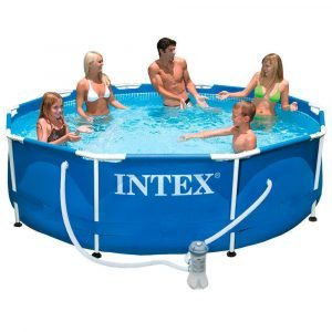 Piscina desmontable INTEX Metal Frame con depuradora