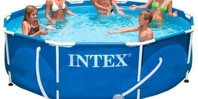 Piscina desmontable INTEX Metal Frame con depuradora