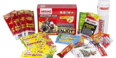Lote de nutrición variado High5 Race Pack