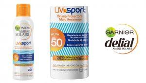 Garnier Ambre Solaire Spray solar, ofertas crema solar, crema solar deportistas