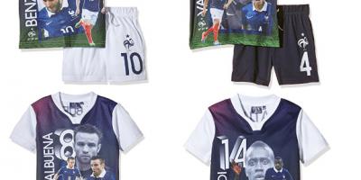 Conjuntos niño 2 piezas selección francesa fútbol