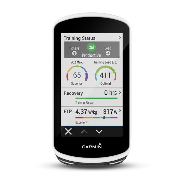 Garmin Edge 1030 funcion entrenamiento