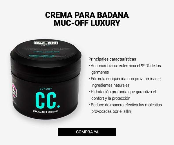 beneficios Crema para badana Muc-Off Chamois