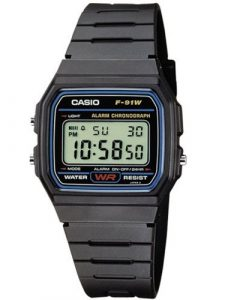 Reloj Casio Collection para Hombre F-91W-1YER