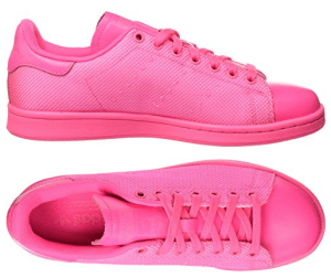 zapatillas adidas stan smith rosa