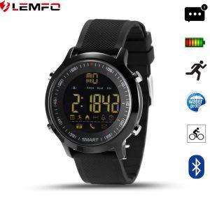 lemfo ex18 - reloj inteligente para hacer deporte con Bluetooth