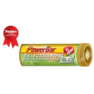Comprimidos PowerBar 5 Electrolytes (10 unds.)