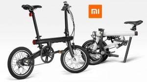 bicicleta eléctrica y plegable Xiaomi QICYCLE EF1
