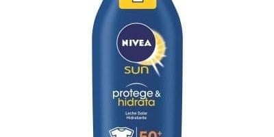 Nivea Sun - Crema solar hidratante Protege & Hidrata FP50+ - Protección UV muy alta