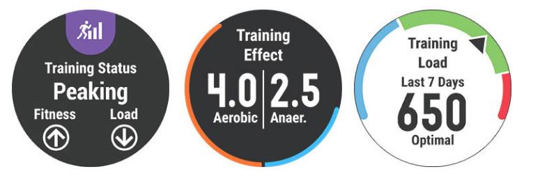 training load garmin