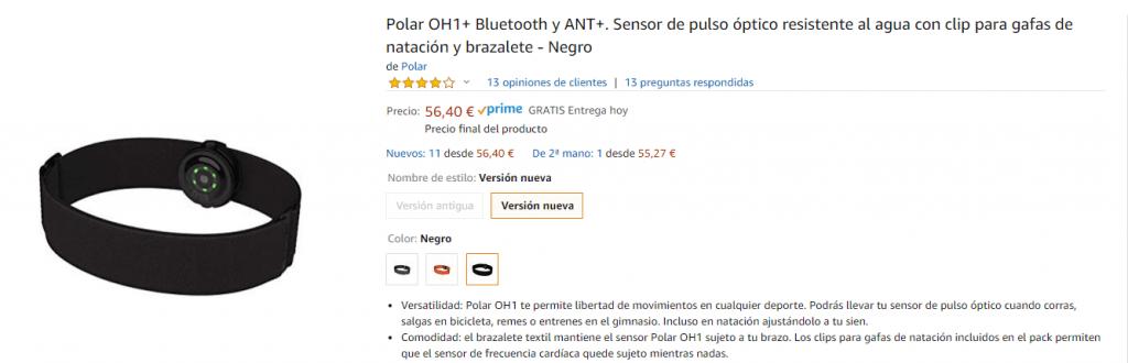 Polar OH1 version nueva
