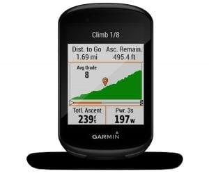 ClimbPro en el Garmin Edge 530