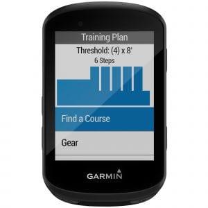 Entrenamiento en Garmin Edge 530