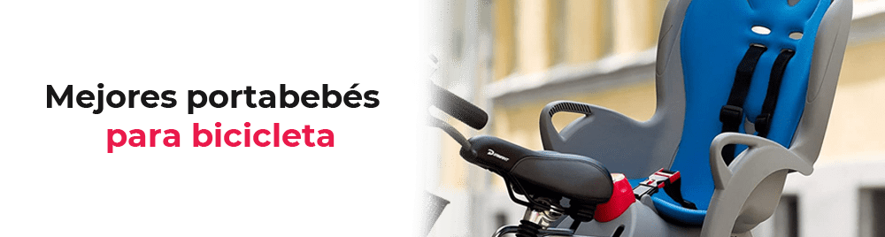 Mejores portabebés para bicicleta