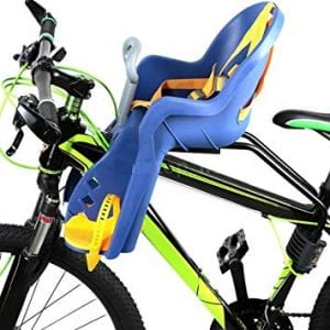 Silla de bebés para bicicleta delantera
