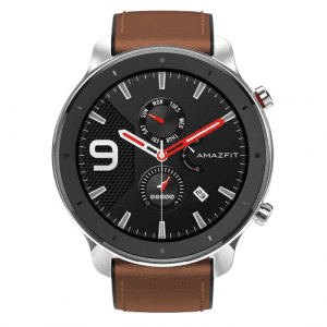 AMAZFIT GTR 47mm Smart Watch International Version ( Xiaomi Ecosystem Product ) - Brown Stainless Steel Case