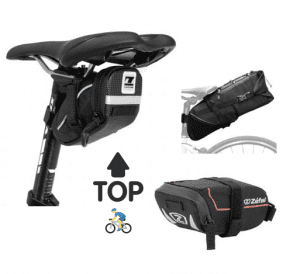 mejores bolsas de sillín para bicicleta