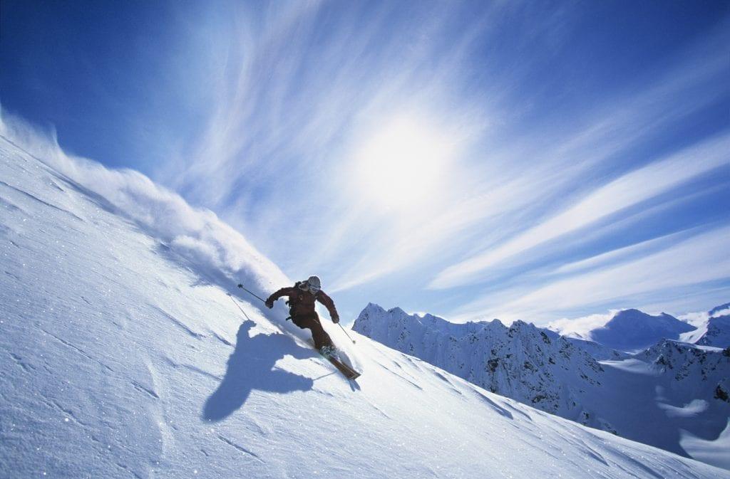Crema solar para la montaña