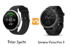 polar ignite vs garmin vivoactive 3