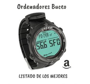 Ordenadores de Buceo: comparativa  guía de compra