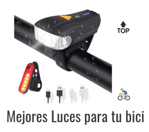 mejores luces ciclismo