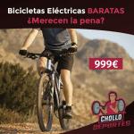 bicis electricas baratas