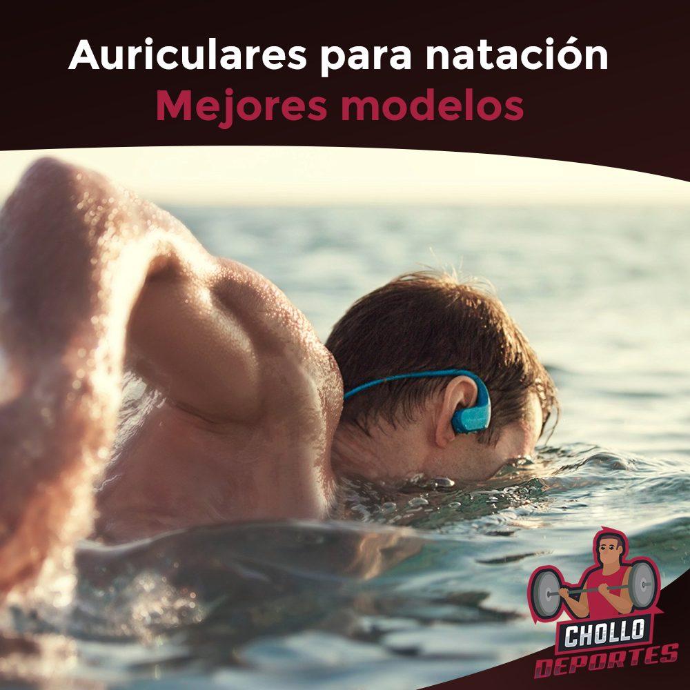 Auriculares natación