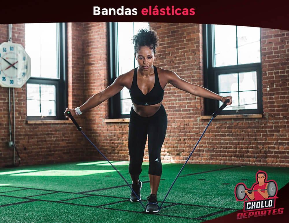 Bandas elasticas y bandas de resistencia
