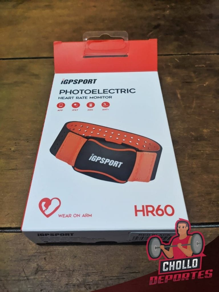 Banda iGPSPORT HR60