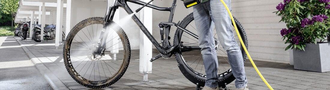 Hidrolimpiadora para bici