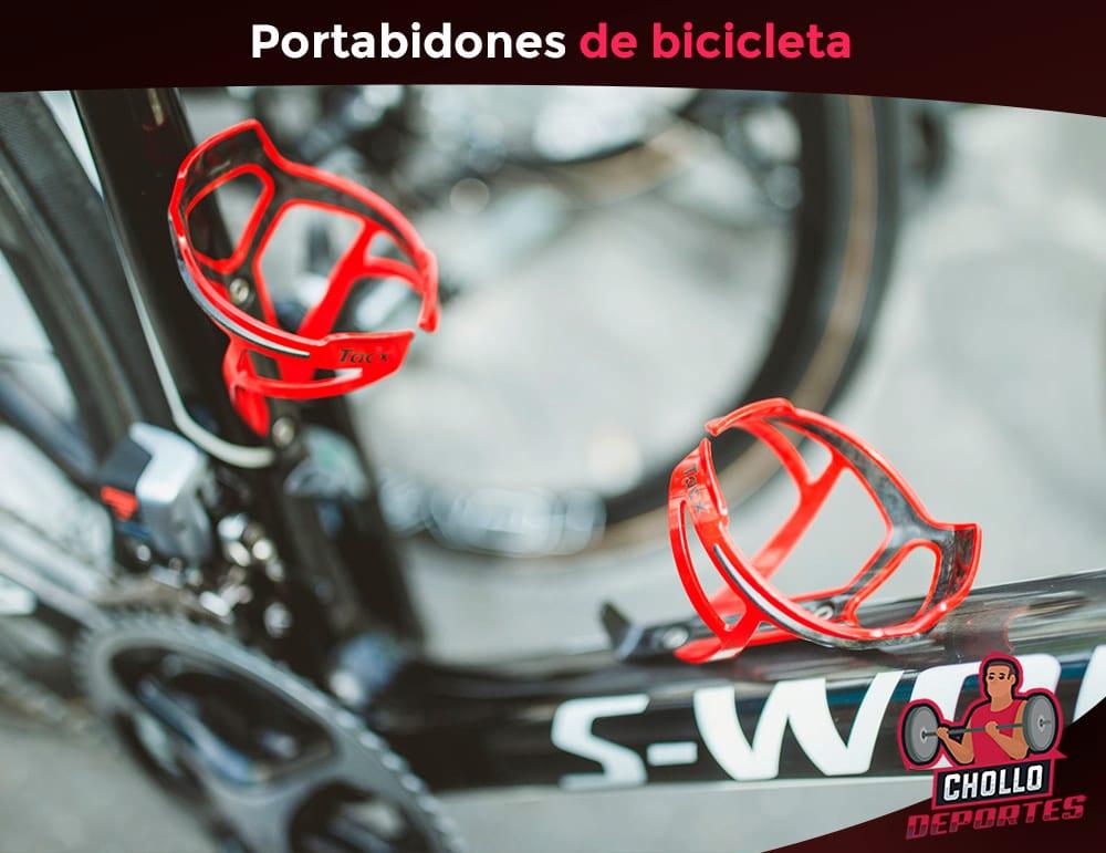 Portabidones bicicleta
