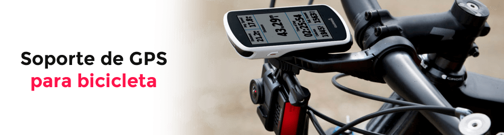 Soportes de GPS para bicicleta