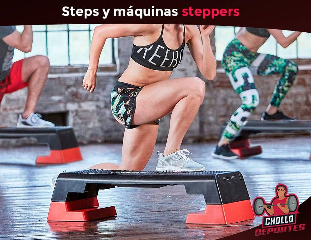 Steppers y máquinas de step