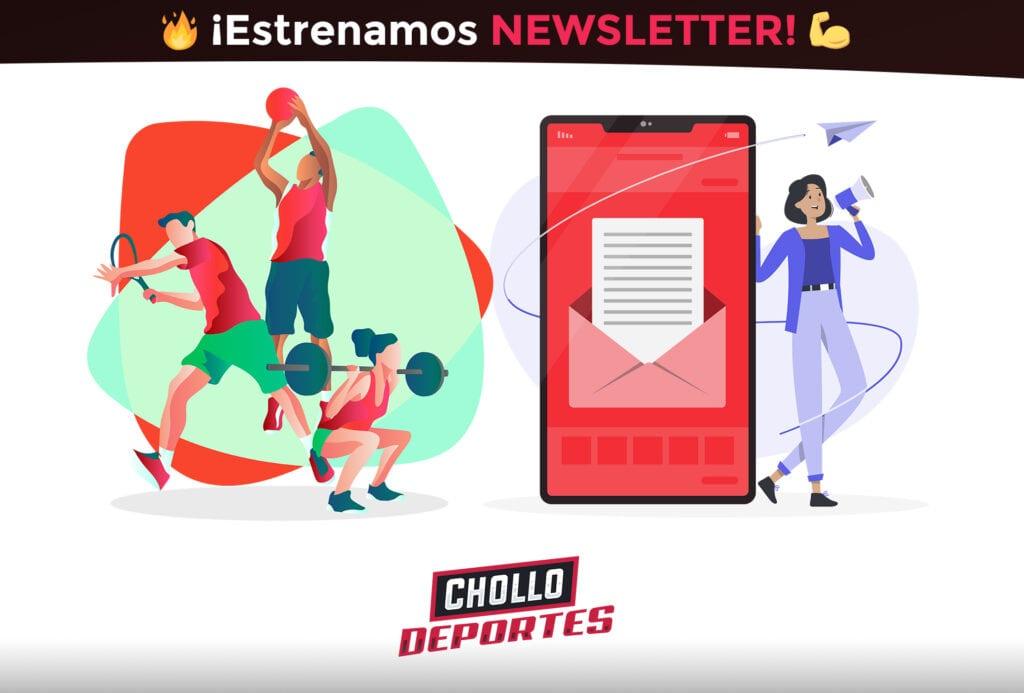 Newsletter de CholloDeportes