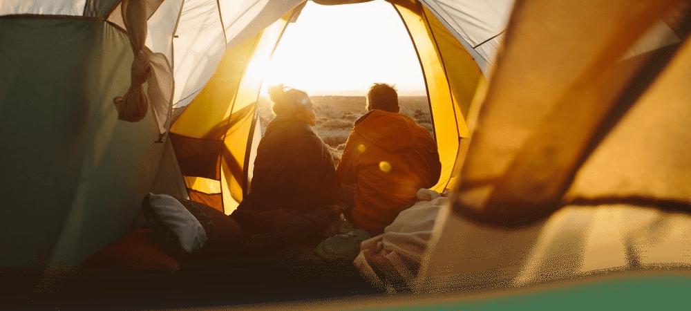 Esterilla acampada