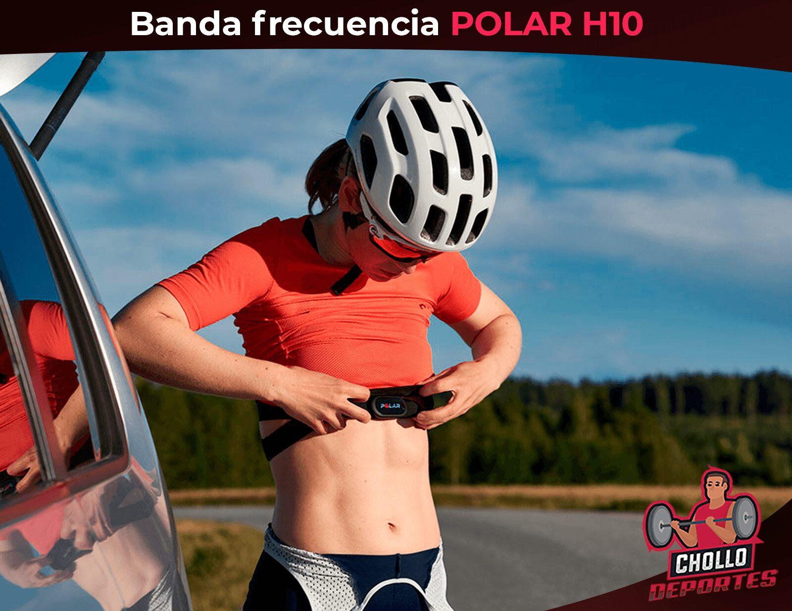 Banda frecuencia cardíaca Polar H10