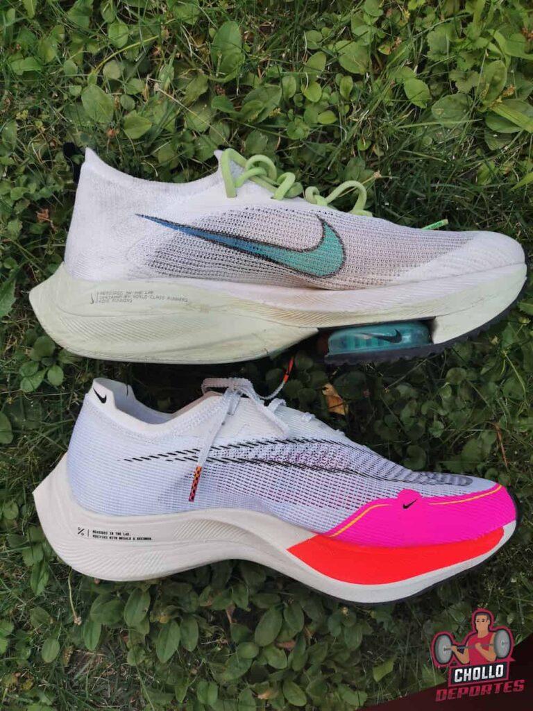 Comparativa Nike Vaporfly Next 2 vs Alphafly