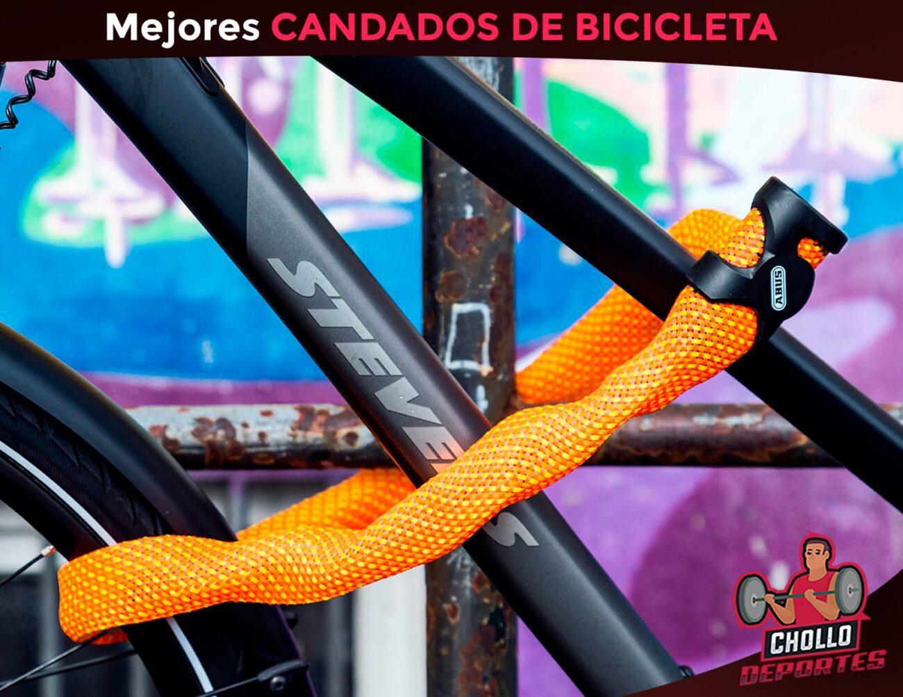 Mejores candados de bicicleta